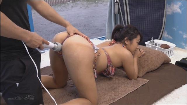 サーファー女子の日焼け跡がクッキリな肉体を存分に弄びました