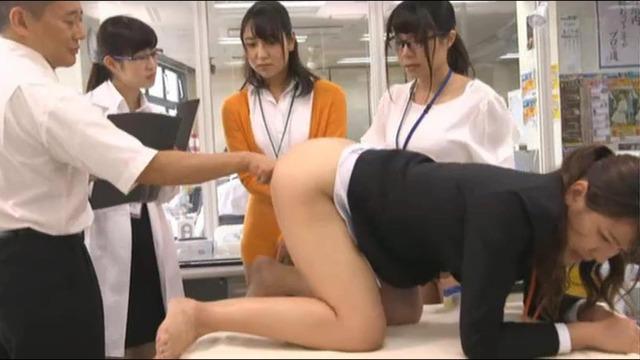 「アナルは本当に気持ちいいのか?」を尻穴処女SOD女子社員3名が真面目に検証してみた結果…人生初アナルで始めは痛がっていたのに挿入39分後、身体をよじらせ連続絶頂!